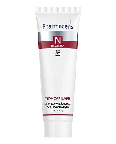PHARMACERIS N VITA CAPILARIL Krem nawilżająco-wzmacniający do twarzy SPF20 - 50 ml - Drogeria Melissa
