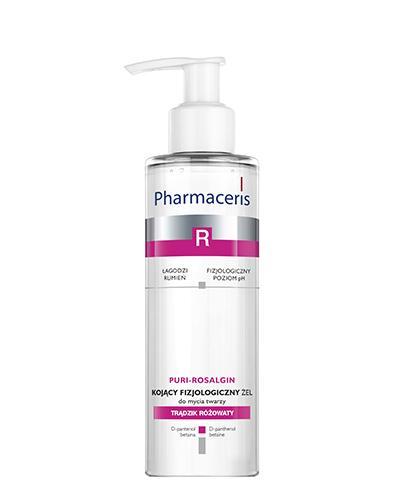 PHARMACERIS R PURI ROSALGIN Kojący żel myjący do twarzy - 190 ml - Drogeria Melissa