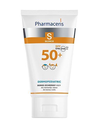 PHARMACERIS S Krem ochronny na słońce do twarzy i ciała dla niemowląt i dzieci SPF50+ - 125 ml   - Apteka internetowa Melissa