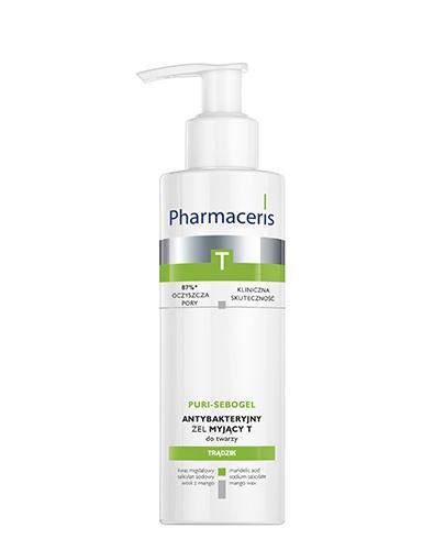 PHARMACERIS T PURI-SEBOGEL Antybakteryjny żel myjący - 190 ml - Drogeria Melissa