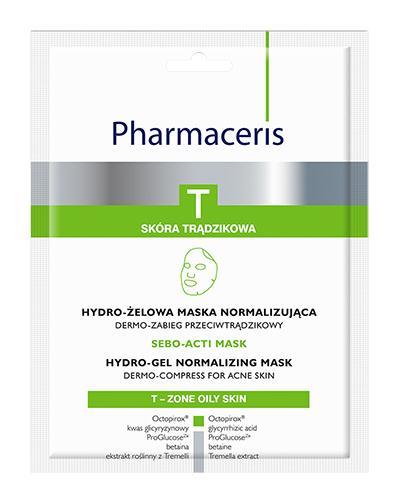 Pharmaceris T Sebo - Acti Maks Hydro - żelowa maska normalizująca - 1 szt. - cena, opinie, właściwości - Drogeria Melissa