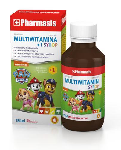 PHARMASIS Multiwitamina 1+ Syrop - 150 ml - Na wzmocnienie - cena, opinie, dawkowanie - Drogeria Melissa