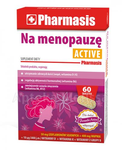 PHARMASIS Na menopauzę Active - 60 tabl. Data ważności: 2018.01.31 - Apteka internetowa Melissa