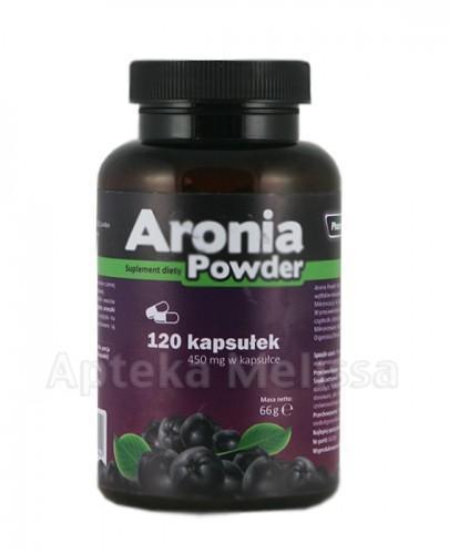 PHARMOVIT Aronia powder - 120 kaps.  - Apteka internetowa Melissa