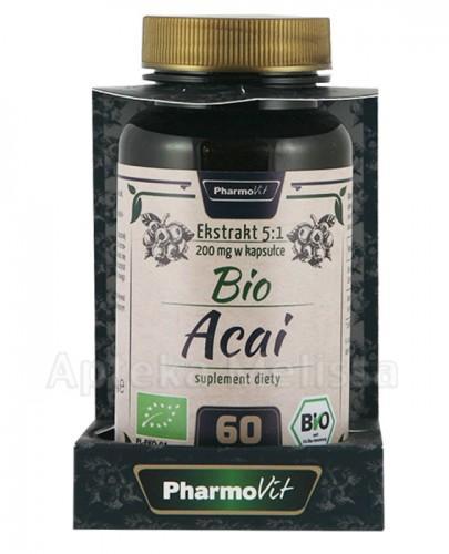 PHARMOVIT Bio acai 200 mg - 60 kaps.  - Apteka internetowa Melissa