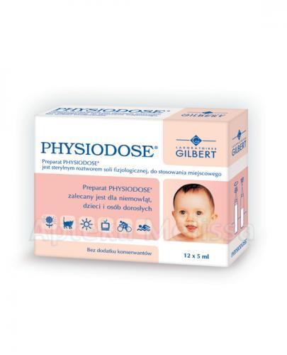 PHYSIODOSE Roztwór soli fizjologicznej - 12 x 5 ml - Apteka internetowa Melissa