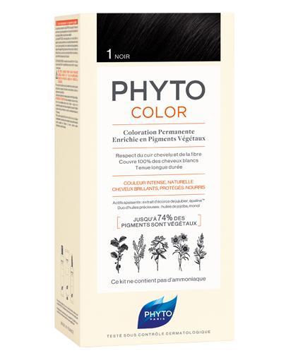 PHYTO COLOR Farba do włosów - 1 CZARNY