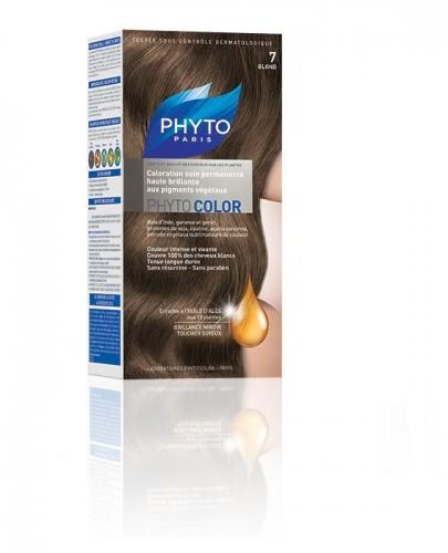 PHYTO COLOR Farba pielęgnacyjna do włosów - 7 BLOND