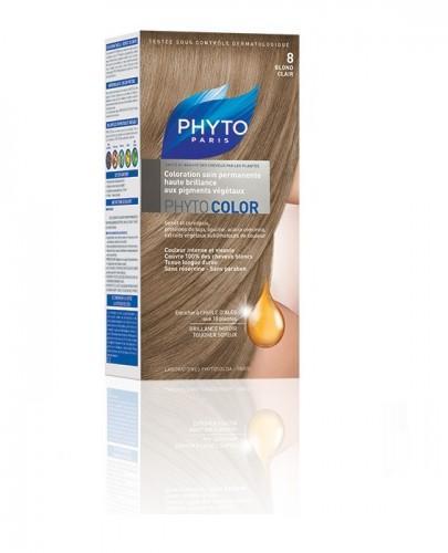 PHYTO COLOR Farba pielęgnacyjna do włosów - 8 JASNY BLOND