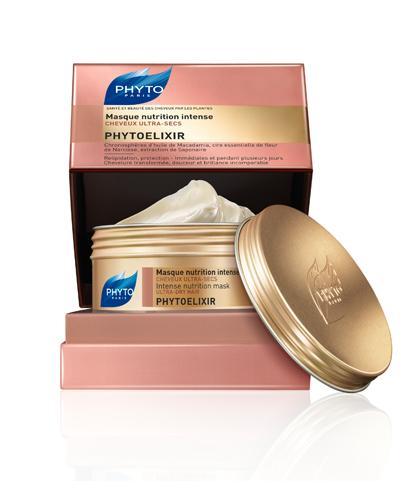 PHYTO PHYTOELIXIR Maska intensywnie odżywcza do włosów bardzo suchych - 200 ml