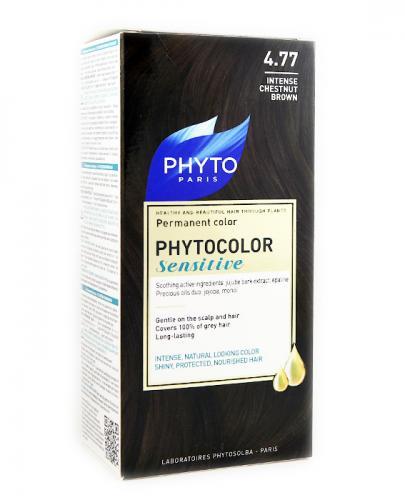 PHYTO PHYTOCOLOR SENSITIVE Farba do włosów - 4.77 INTENSYWNY BRĄZOWY KASZTAN - Apteka internetowa Melissa