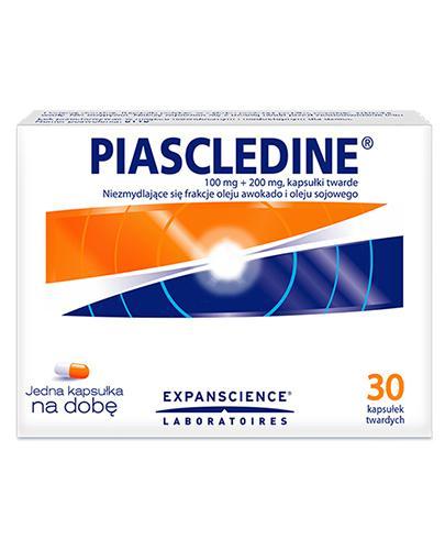 PIASCLEDINE 300 mg - 30 kaps. - na choroby zwyrodnieniowe stawów - cena, opinie, dawkowanie - Apteka internetowa Melissa