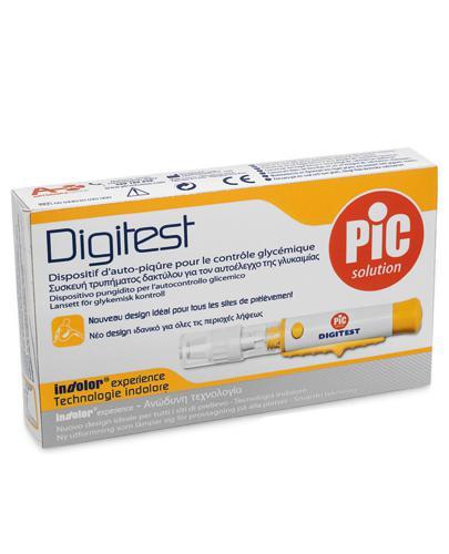 PIC Digitest Komfortowe urządzenie do nakłuwania - 1 szt. - cena, opinie, stosowanie - Drogeria Melissa