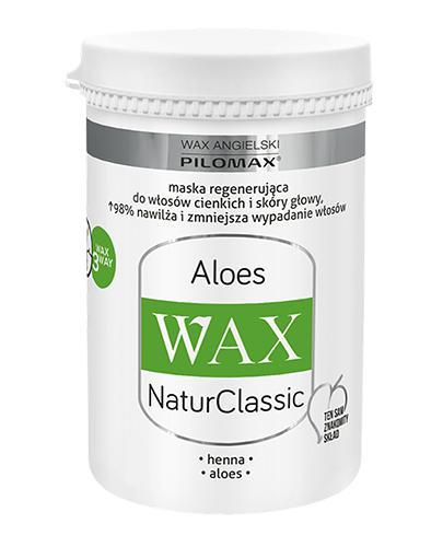 PILOMAX WAX NATURCLASSIC ALOES Maska do włosów cienkich - 240 ml - cena, opinie, właściwości