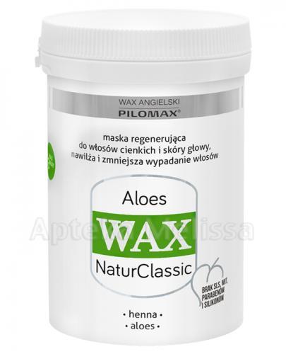 PILOMAX WAX NATURCLASSIC ALOES Maska do włosów cienkich - 480 ml - cena, opinie, właściwości - Apteka internetowa Melissa