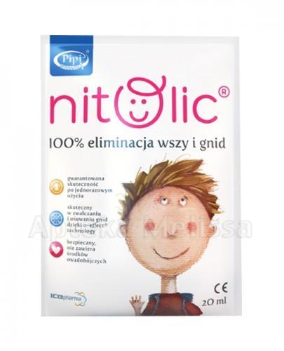 PIPI NITOLIC Preparat przeciw wszawicy  - 20 ml - Apteka internetowa Melissa