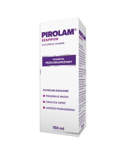 PIROLAM Szampon przeciwłupieżowy - 150 ml - działanie przeciwgrzybicze - cena, opinie, właściwości