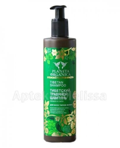 PLANETA ORGANICA Szampon do włosów tybetański ziołowy objętość i siła - 280 ml  - Apteka internetowa Melissa