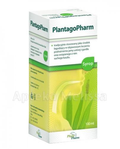 PLANTAGOPHARM Syrop - 100 ml - Apteka internetowa Melissa