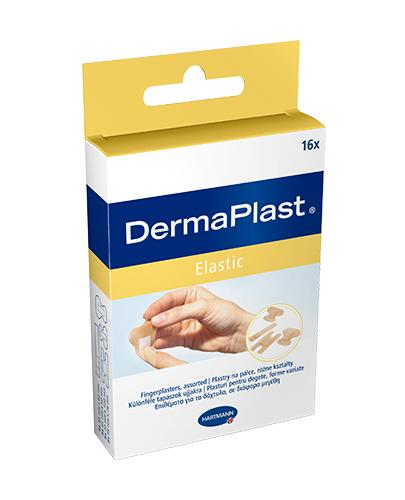 Plast.DERMAPLAST ELASTIC 4rozm.(16szt.)