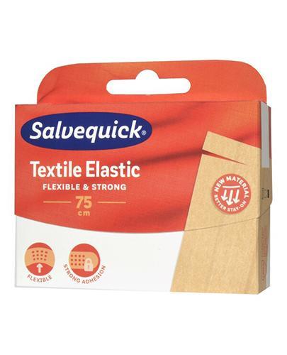 Plast.SALVEQUICK Tekstylne 75cmx12 1sz