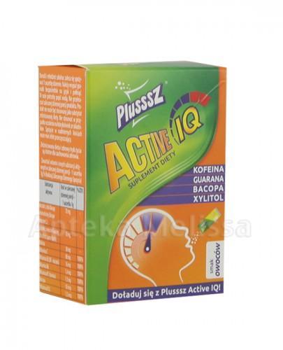 PLUSSSZ ACTIVE IQ Smak owocowy - 10 sasz.  - Apteka internetowa Melissa