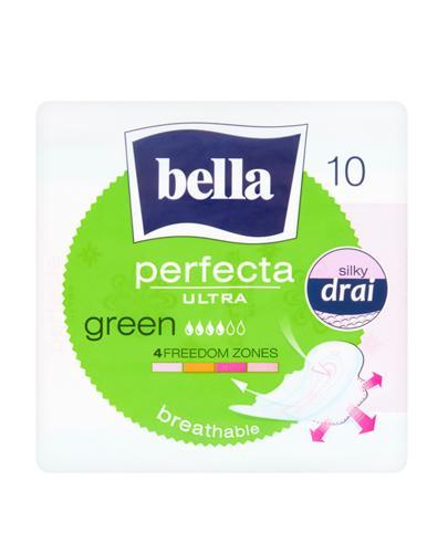 BELLA PERFECTA ULTRA GREEN Podpaski - 10 szt. - Apteka internetowa Melissa