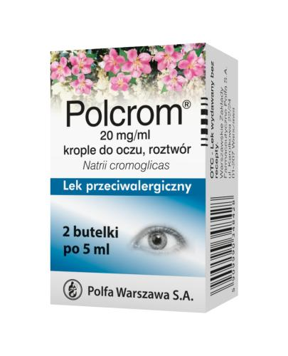 POLCROM 20 mg w 1ml Krople do oczu - 10 ml - Apteka internetowa Melissa