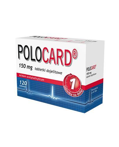 POLOCARD 150 mg - 120 tabl.