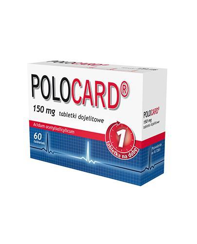 POLOCARD 150 mg - 60 tabl.