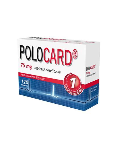 POLOCARD 75 mg - 120 tabl.