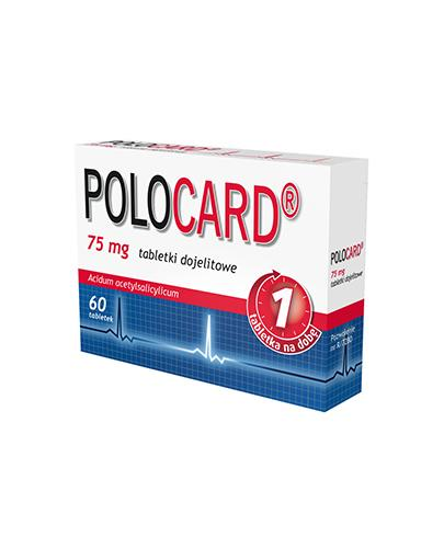 POLOCARD 75 mg - 60 tabl.