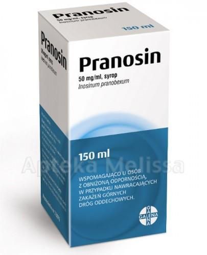 PRANOSIN Syrop 50 mg/ml - 150 ml