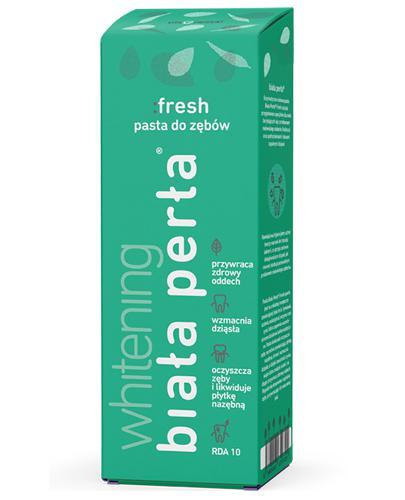 BIAŁA PERŁA FRESH Enzymatyczno-ziołowa pasta do zębów - 75 ml