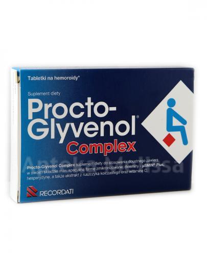 PROCTO-GLYVENOL COMPLEX Tabletki na hemoroidy - 30 tabl.  - Apteka internetowa Melissa