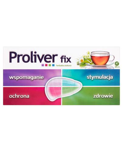 PROLIVER FIX - 20 sasz.  - Apteka internetowa Melissa