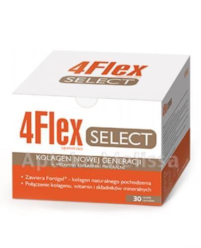 4FLEX SELECT Kolagen nowej generacji - 30 sasz. Data ważności: 2016.10.30