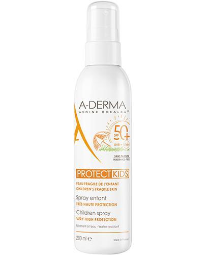 A-DERMA PROTECT KIDS Spray dla dzieci SPF50+ - 200ml - Apteka internetowa Melissa