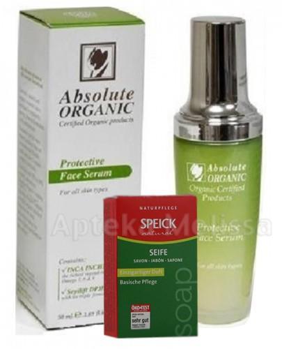 ABSOLUTE ORGANIC Serum organiczne ochronne do twarzy - 50 ml - Apteka internetowa Melissa