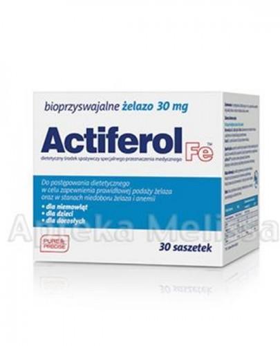ACTIFEROL FE 30 mg - 30 sasz. + ACTIFEROL FE 30 mg - 30 sasz. GRATIS ! Data ważności: 2016.10.31