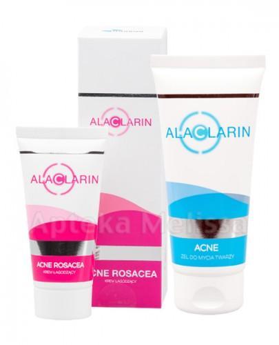 ALACLARIN Krem łagodzący - 30 ml + ALACLARIN Żel do mycia twarzy - 100 ml Data ważności: 2016-11-30