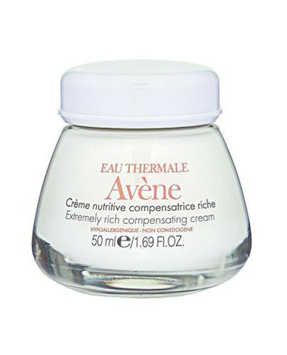 AVENE Nutritive Riche Krem odżywczy do skóry wrażliwej, suchej i bardzo suchej - 50 ml + Kosmetyczka Avene - Apteka internetowa Melissa