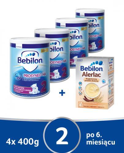 BEBILON 2 HA PROSYNEO Mleko modyfikowane w proszku - 4 x 400 g