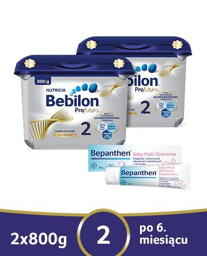 BEBILON 2 PROFUTURA Mleko modyfikowane w proszku - 2x800g
