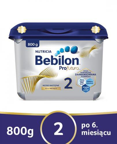 BEBILON 2 PROFUTURA Mleko modyfikowane w proszku - 800g NOWE OPAKOWANIE