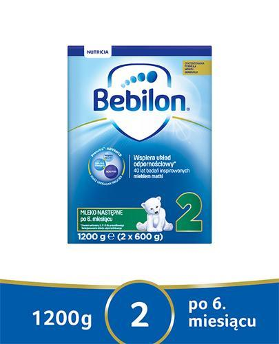 BEBILON 2 Z PRONUTRA Mleko modyfikowane w proszku - 1200 g
