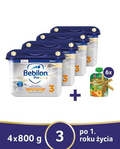 BEBILON 3 PROFUTURA Mleko modyfikowane w proszku - 4x800 g - Apteka internetowa Melissa