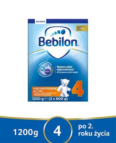 BEBILON 4 JUNIOR Z PRONUTRA Mleko modyfikowane w proszku - 1200 g