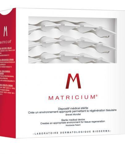 BIODERMA MATRICIUM Ampułki -  30 x 1 ml + Kosmetyczka GRATIS !  - Apteka internetowa Melissa