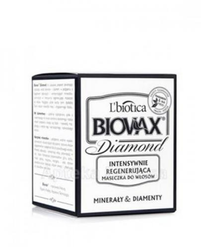 BIOVAX GLAMOUR DIAMOND Intensywnie regenerująca maseczka do włosów - 125 ml + Maseczka do włosów farbowanych 20 ml GRATIS !